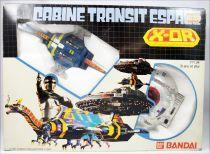 Space Sheriff Gavan X-Or - Popy Bandai France - Dol & Giran set