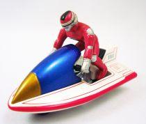 Space Sheriff Sharivan (X-Or 02) - Bandai Hot Wheels - Motosharian (loose)