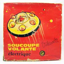 Space Toy - Véhicule à piles - Soucoupe Volante Electrique (C.H.R.) France 1960\'s