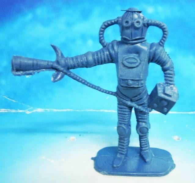 Space Toys - Comansi Figurines Plastiques - Alien #2 (bleu)