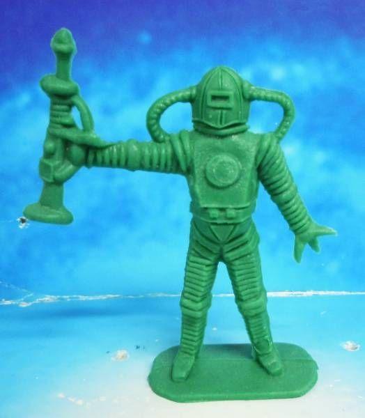 Space Toys - Comansi Figurines Plastiques - Alien #6 (vert)