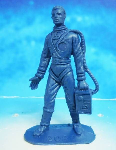 Space Toys - Comansi Figurines Plastiques - OVNI 2020: Astronaute (bleu)
