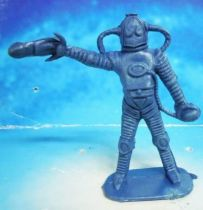 Space Toys - Comansi Plastic Figures - Alien #3 (blue)