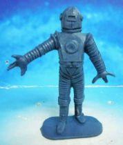 Space Toys - Comansi Plastic Figures - Alien #4 (blue)