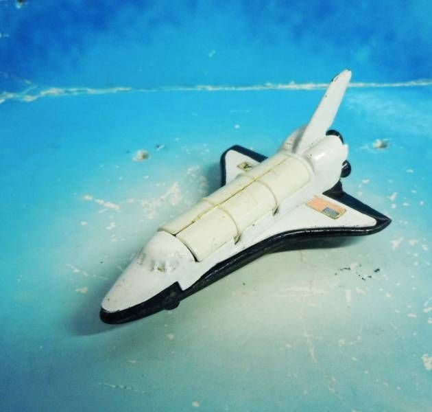 Space Toys - Corgi Junior Vintage - Columbia - SpaceShuttle (Ref.5) Loose