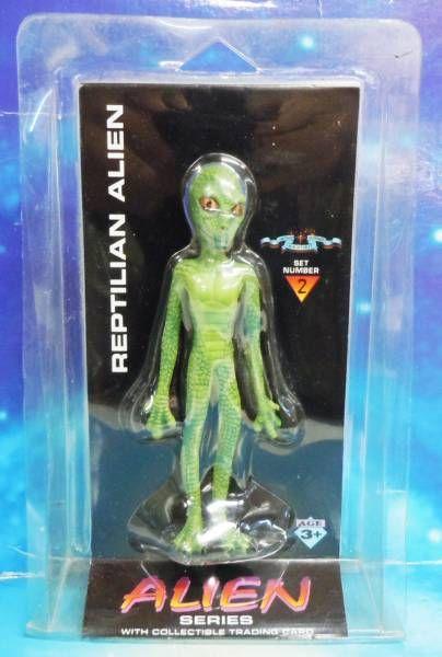 Space Toys - Figurines Plastiques - Reptilian Alien (Myth & Legends Miniatures Set #2)