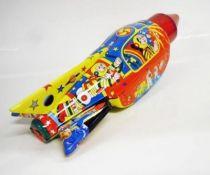 Space Toys - Fusée à friction & Etincelante en Tôle - Space Rocket (Tin Treasures)