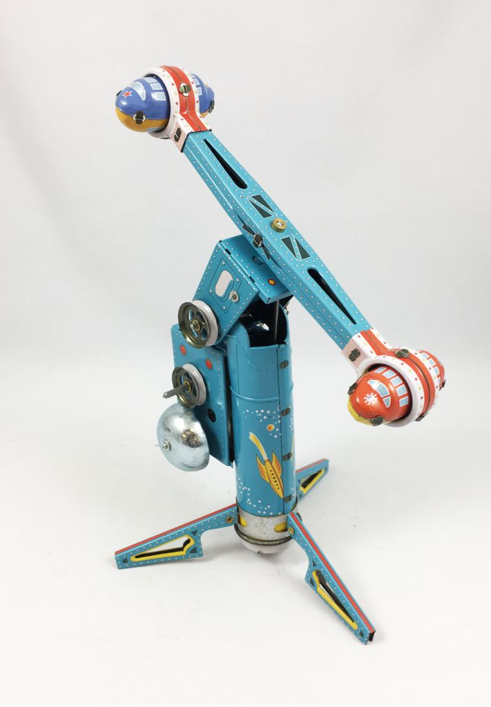 Space Toys - Mechanical Tin Toy - Space Station (N.R.) MS446