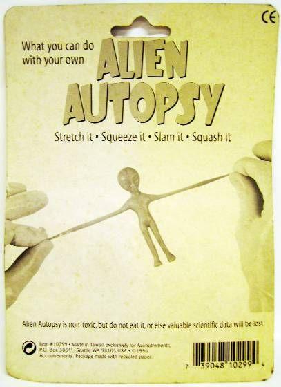 Space Toys - Plastic Figures - Alien Autopsy (Glow-in-the-Dark)