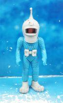 Space Toys - Plastic Figures - Ferrero Spacemen (Light Blue #1)
