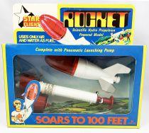 Space Toys - STAR Flight (Timpo Toys) 1977 - Rocket (propulsion à eau)