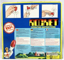 Space Toys - STAR Flight (Timpo Toys) 1977 - Rocket (water jet propulsion)