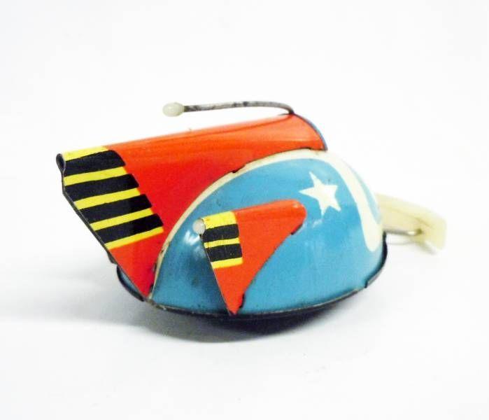 Space Toys - Véhicule à remonter en tôle - Luna Space Patrol (Tchécoslovaquie 1960\'s)