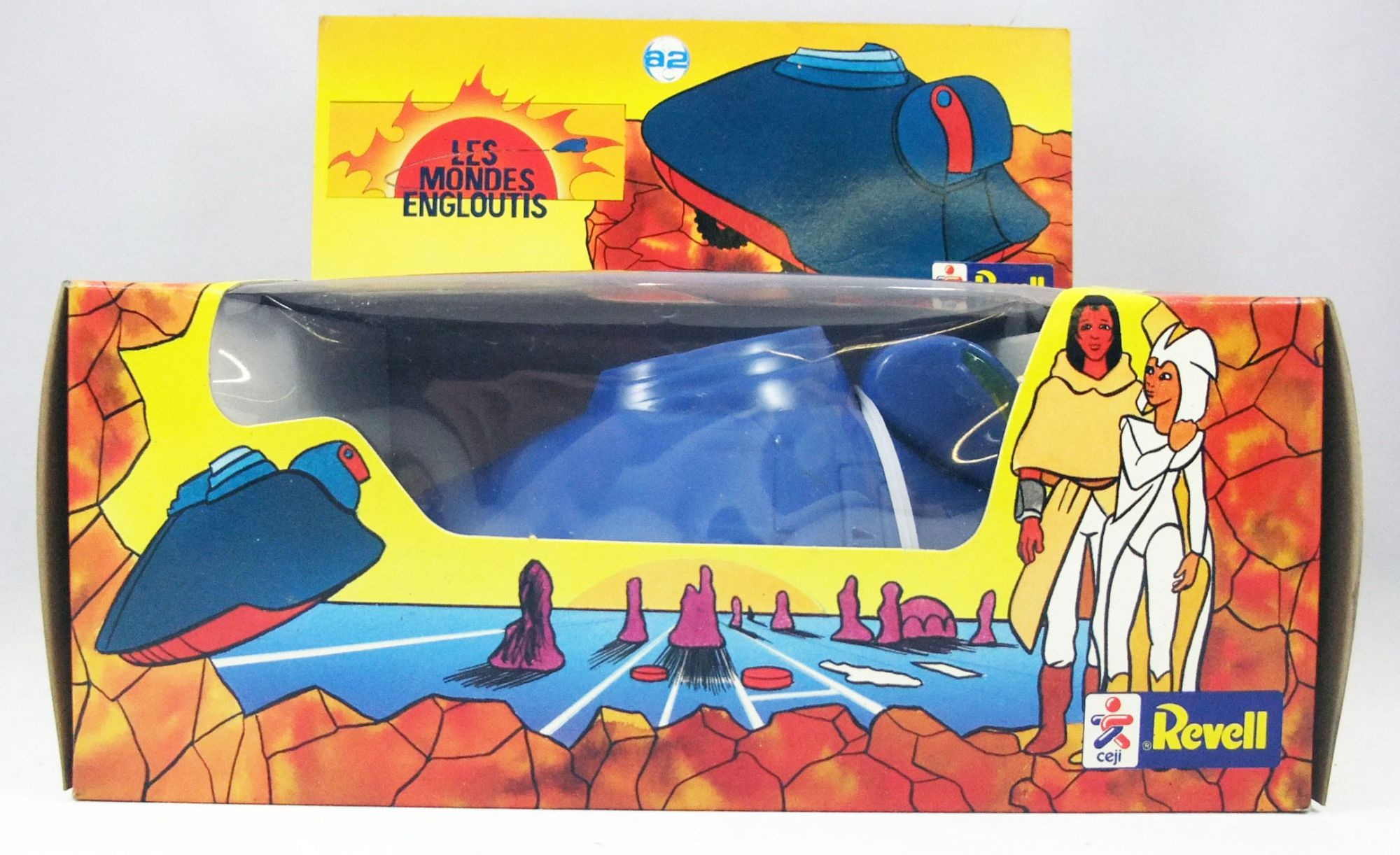 Spartakus and the Sun beneath the Sea - Action figure Vehicle - Shag Shag