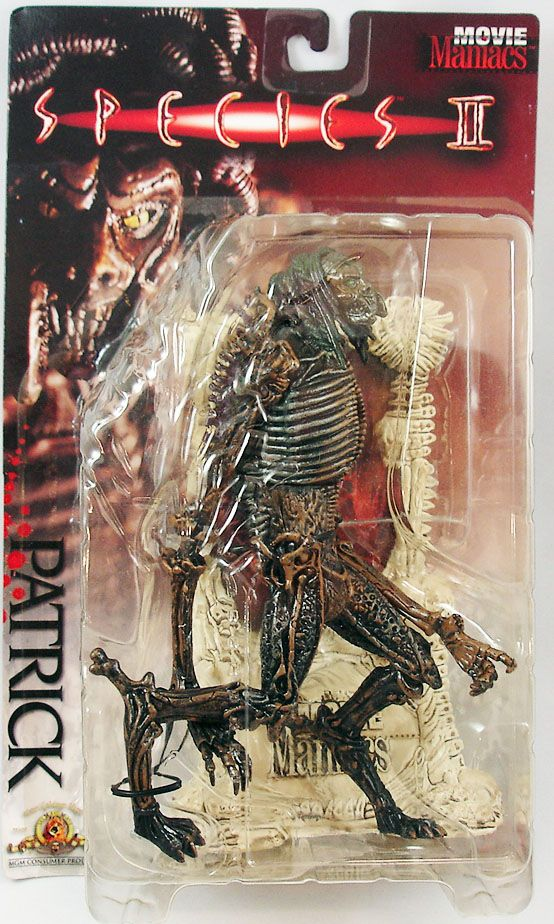 Species II (La Mutante) - Patrick - Figurine Movie Maniacs McFarlane