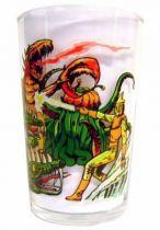 Spectreman - Amora Mustard glass - Spectreman fighting Monsters