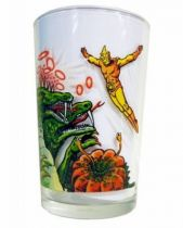 Spectreman - Amora Mustard glass - Spectreman vs. 3 Headed Dragon