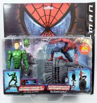 Spider-Man (Film 2002) - Toy Biz - Super Poseable Green Goblin & Spider-Man