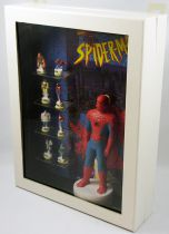 Spider-Man 1996 Animated Series - Boxed gift-set of porcelain bean-figures
