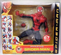 "Spider-Man 2 (2004 movie) - Spider-Man Super Poseable 18"" Action Figure - Toy Biz"