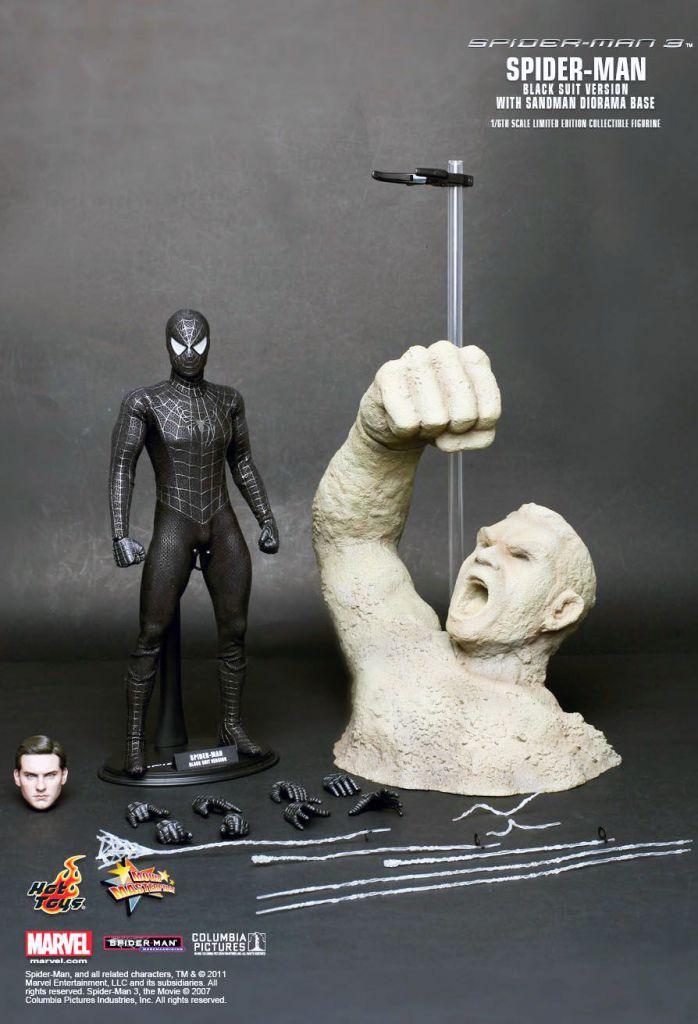 Hot Un Stock >> Spider-Man 3 - Spidey costume noir (Tobey Maguire) avec ...