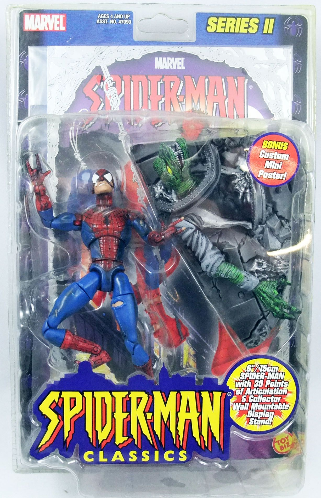 Spider-Man Classics - Battle Ravaged Spider-Man
