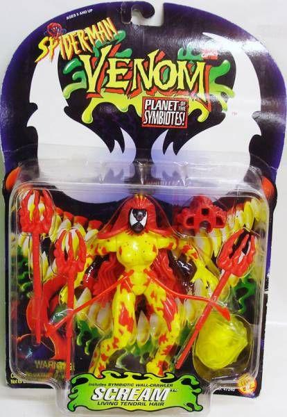 Spider-Man Venom Planet of the Symbiotes - Scream