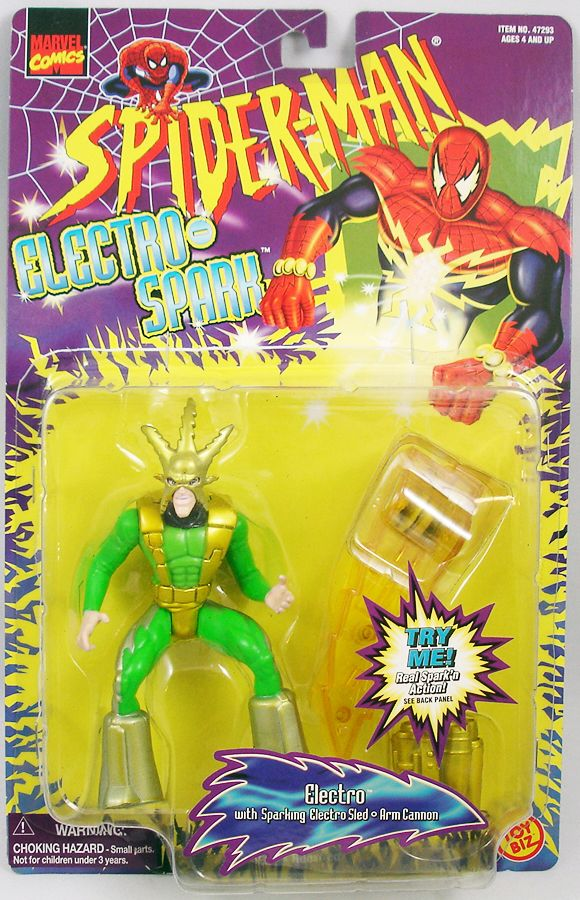 Spiderman - Animated Serie - Electro