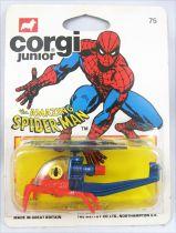 Spiderman - Corgi Junior Ref. 75 - Spidercopter (neuf en blister)