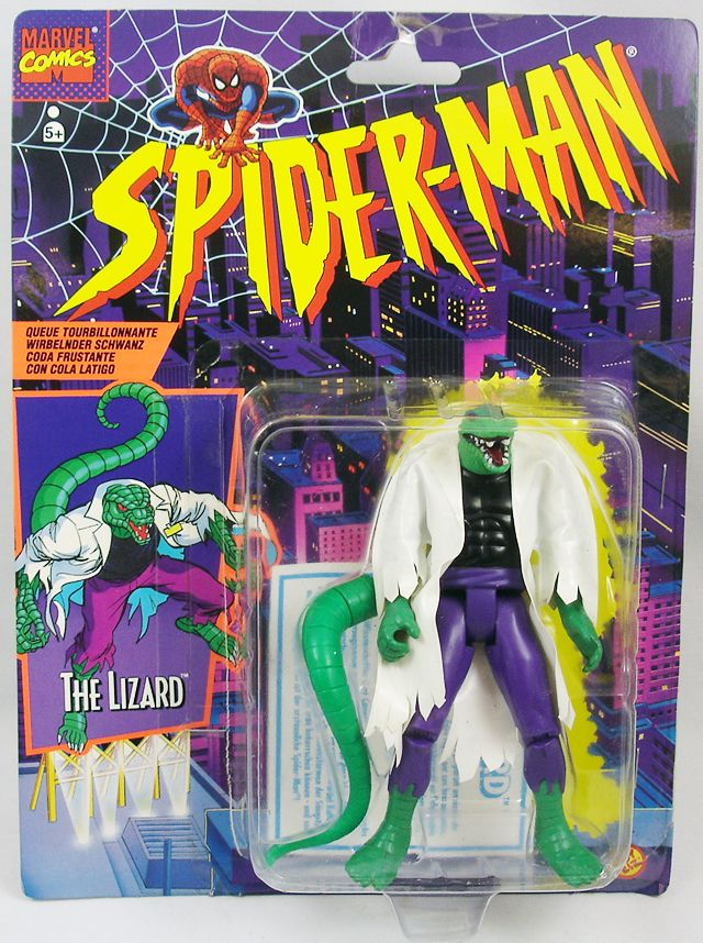 Spiderman - Série Animée - The Lizard