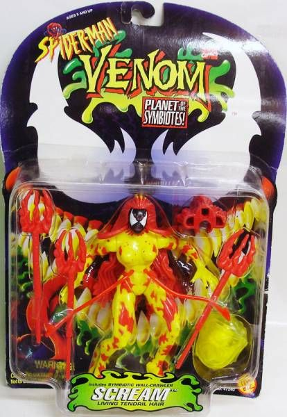 Spiderman Venom Planet of the Symbiotes - Scream