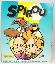 Spirou - Album Collecteur de vignettes Panini 1995