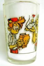 Spirou - Amora Mustard glass - Spirou & Champignac