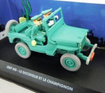 Spirou - Atlas Edtions Vehicle - Jeep MB from the Dictator and the Mushroom (mint in box)