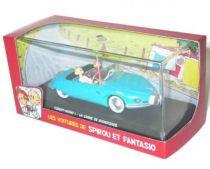 Spirou - Atlas Edtions Vehicle - The Turbot Rhino 1 from La corne de rhinocéros (Mint in box)