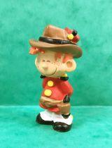 Spirou - Figurine PVC Plastoy - Le Petit Spirou (cowboy)