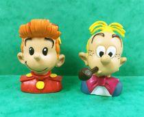 Spirou - Figurines PVC Comics Spain - Bustes de Spirou et Fantasio