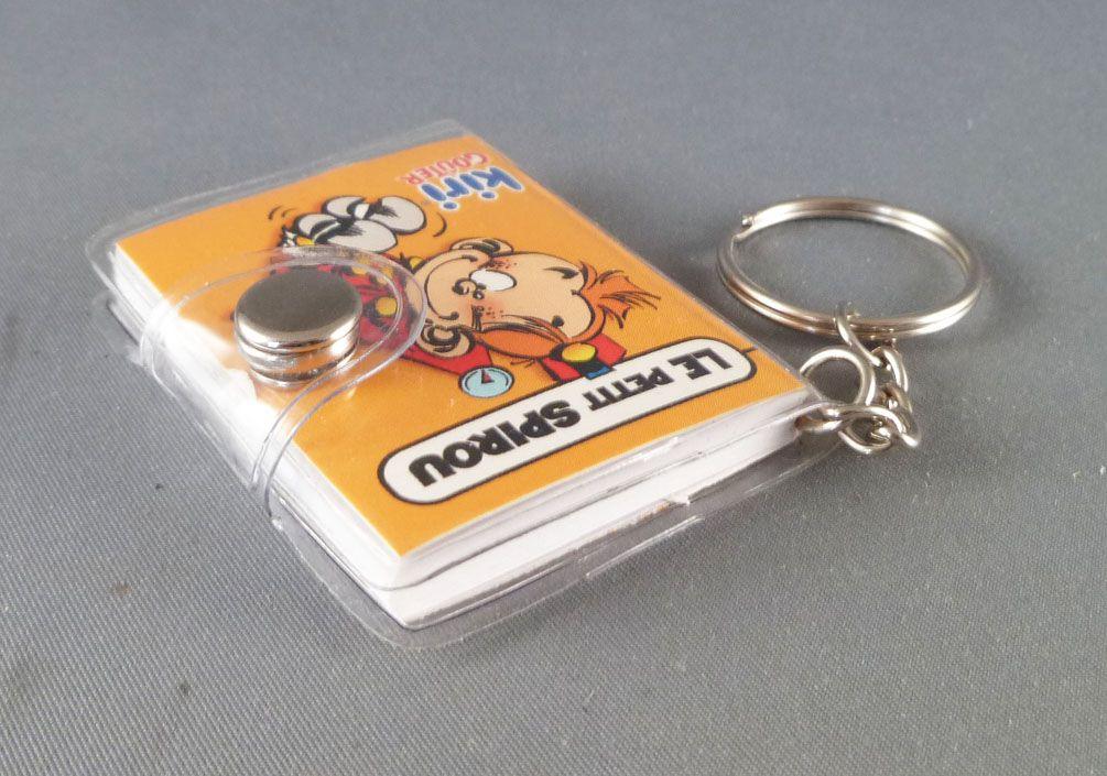 Spirou - Kiri (Cheese) Premium Notebook Key Holder - The Small Spirou