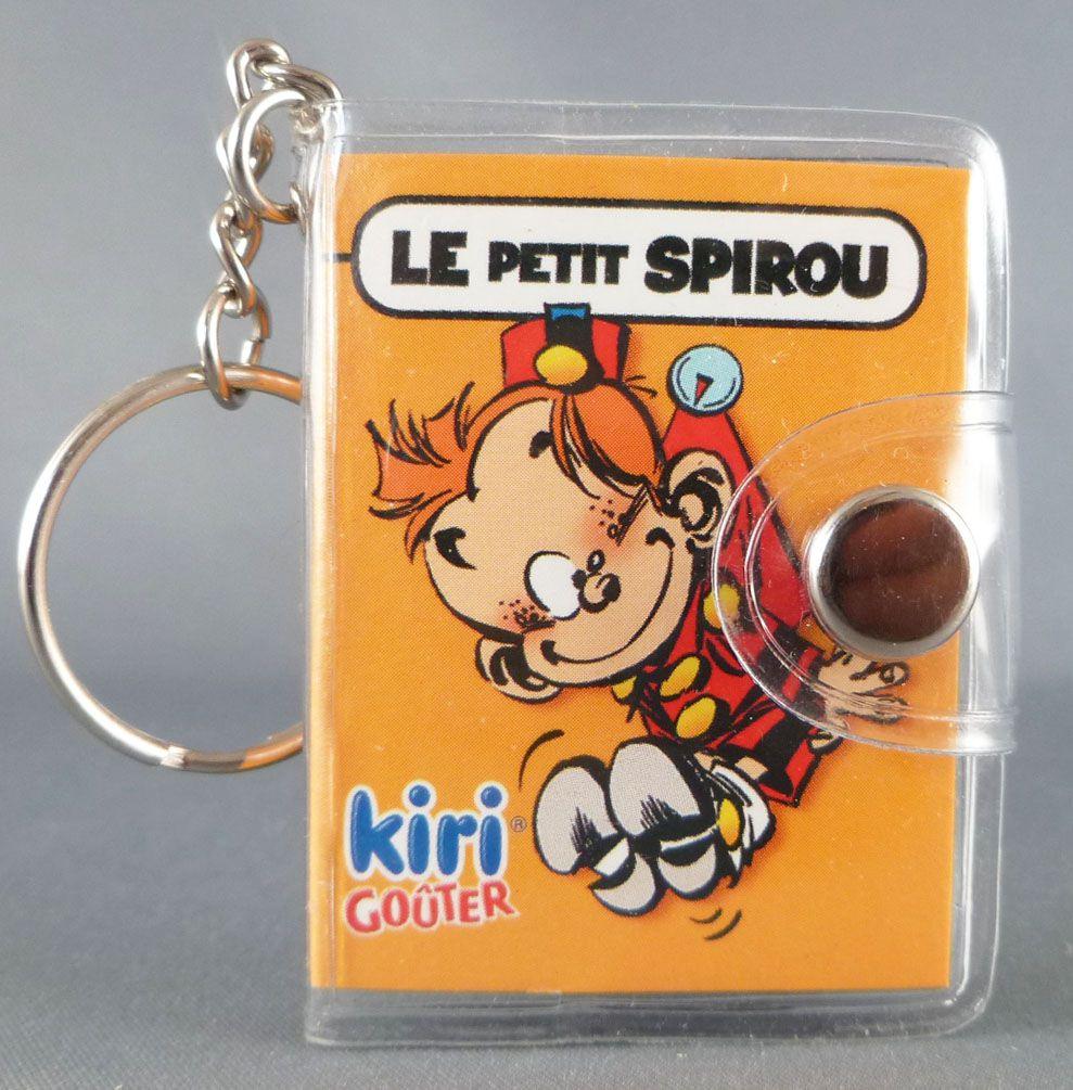 Spirou - Porte Clef Carnet Bloc Note Kiri Goûter - Le Petit Spirou