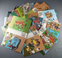 Spirou - Série Complète de 36 Cartes Postales Trésor Journal Franquin 1985