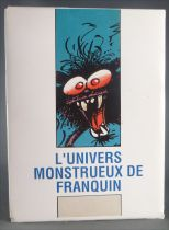 Spirou - The Monstrous Univers of Franquin Complete Set of 8 Post Cards 1989