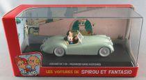 Spirou - Véhicule Editions Atlas - La Jaguar XK 120 de Vacances sans Histoires