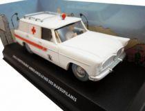 Spirou - Véhicule Editions Atlas - La Simca Vedette Marly Ambulance du Nid des Marsupilamis (neuve en boite)