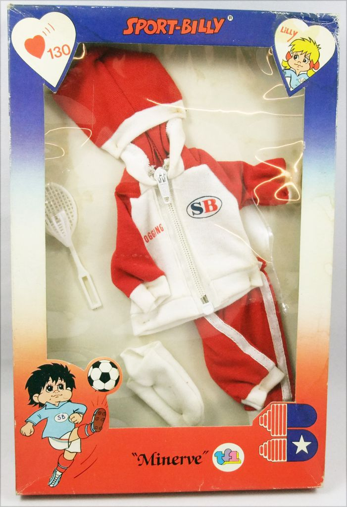 Sport-Billy - Badminton Outfit - Mint in Box - Minerve