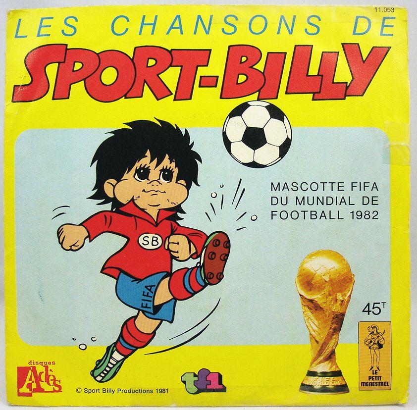 Sport-Billy - Disque 45Tours - Bande Originale Série Tv - Disques Ades 1981