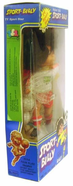 Sport-Billy - Lyra Active Doll - Mint in Box