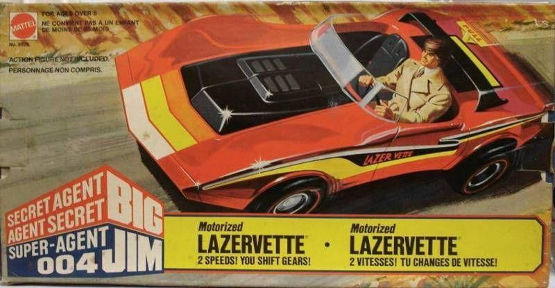 Spy series - Mint in box Lazervette (ref.8928)