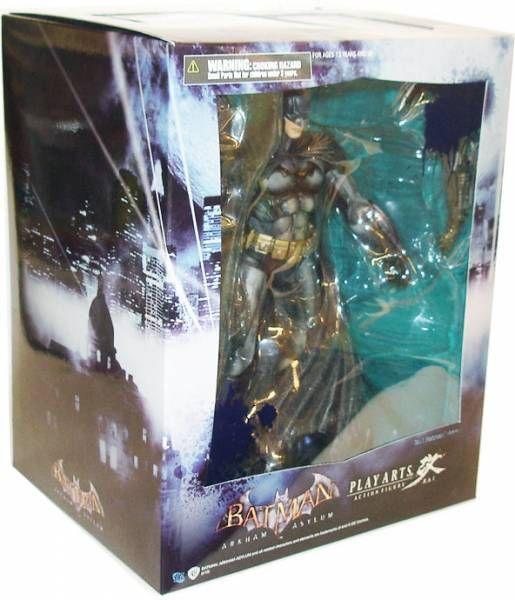 Square Enix - Batman Arkham Asylum - Figurine Play Arts Kai - Batman