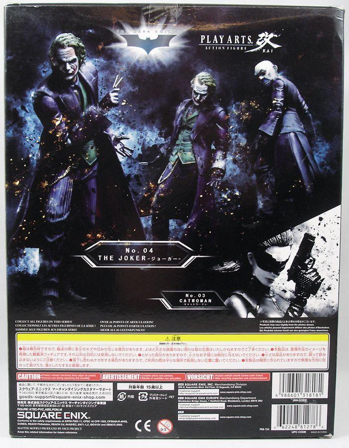 Square Enix - The Dark Knight Trilogy - Play Arts Kai Action Figure - The Joker