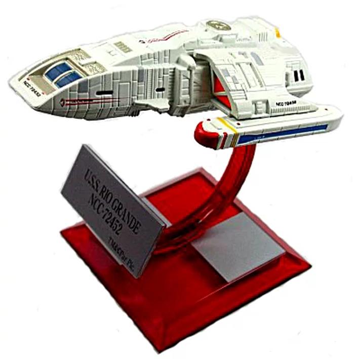 Star Trek Federation Ships & Alien Ships Collect. - Furuta - USS Rio Grande NCC-72452 (Beta Series 03)